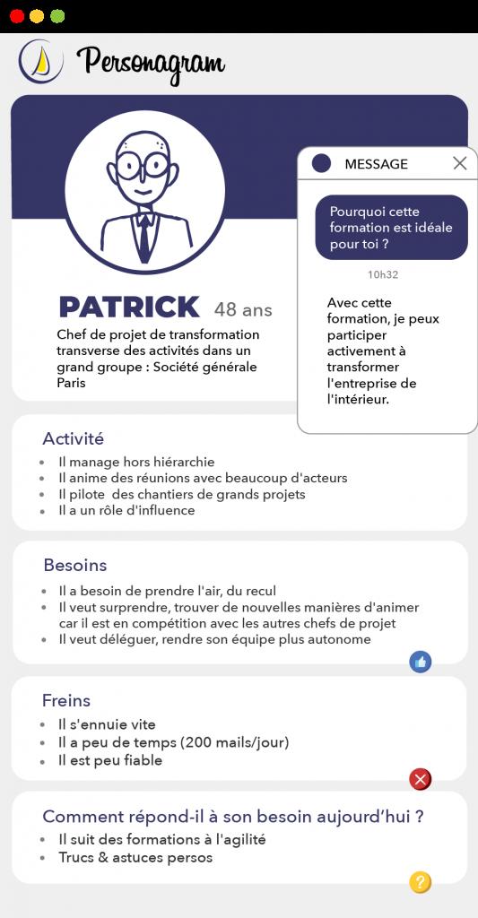 Personagram de Patrick